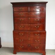 georgian chest on chest barnt Green Antiques Birmingham